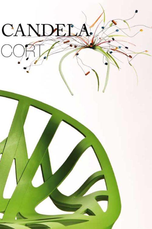 Candela Cort diseñadora de sombreros