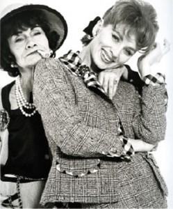 Fotografía de Chanel y Suzy Parker de Richard Avedon