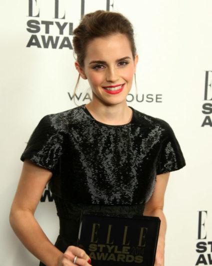 Emma Watson en los premios Elle