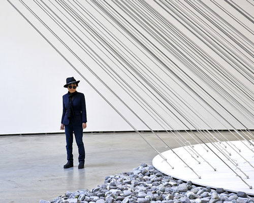 Yoko Ono llega al Museo Guggenheim