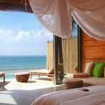 Vista oceánica desde la Deluxe Pool Villa del Six Senses Con Dao