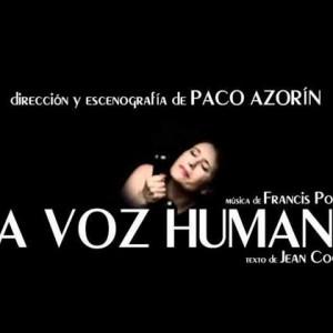 La voz humana de Paco Azorín