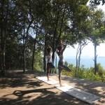 Clases de yoga en la plataforma de Yoga del Six Senses Yao Noi