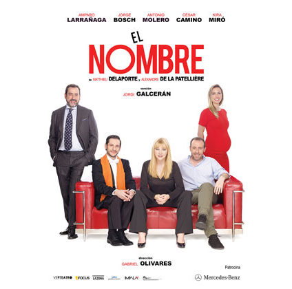 """Cartel """"El Nombre"""""""