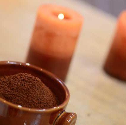 Tratamiento reductor con envoltura de café 100% ecológico