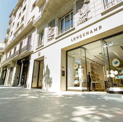 Fachada Longchamp Barcelona