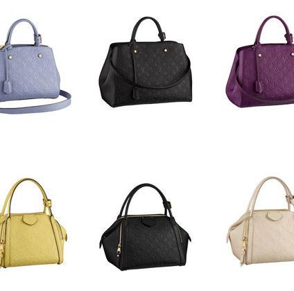 Louis Vuitton presenta dos nuevos it-bags en piel Monogram Empreinte