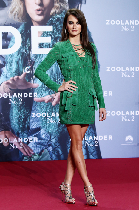 Penelope Cruz Chopard Zoolander 2 premiere