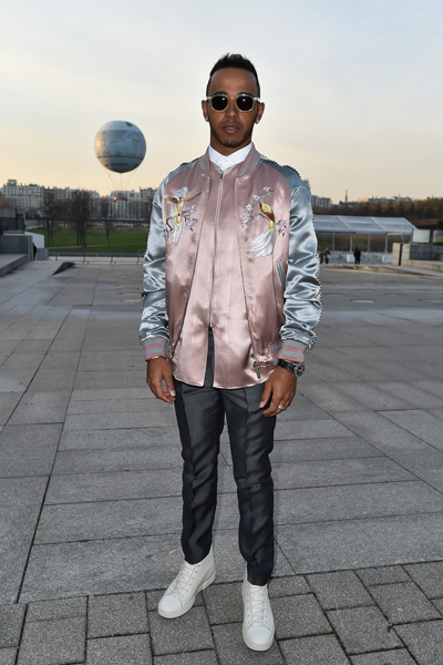 Lewis Hamilton Louis Vuitton