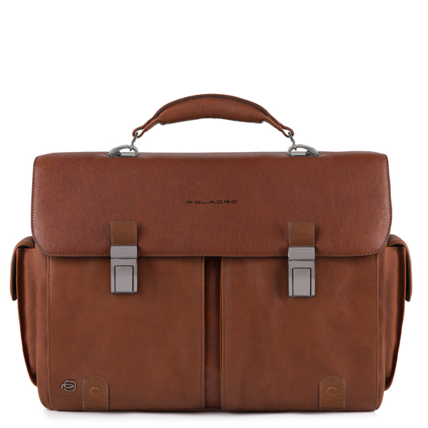 piquadro all in brown