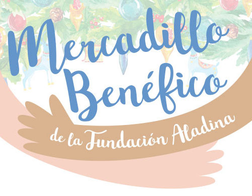 mercadillo benefico fundacion aladina madrid