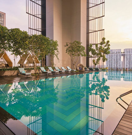 Oasia Hotel Downtown Singapore Kettal