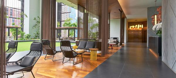 kettal hotel oasia singapur