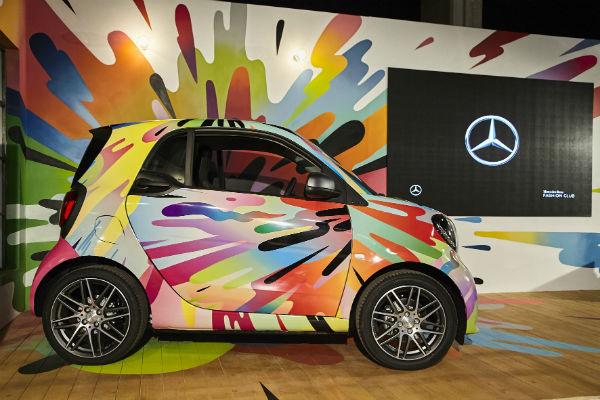 arte madrid Mercedes Benz Fashion Club