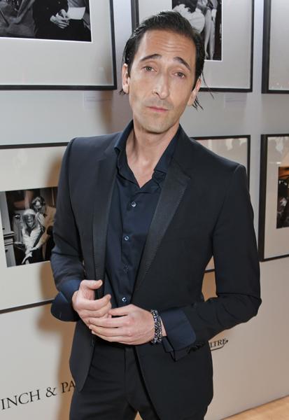 Adrien Brody cannes Filmmakers dinner