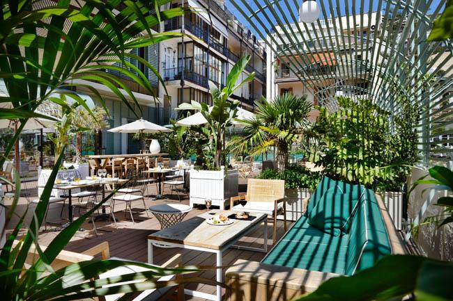 Cotton House Hotel terraza restaurantes barcelona