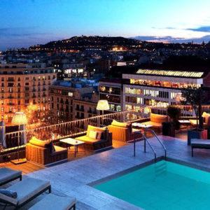 Majestic Hotel&Spa terraza barcelona