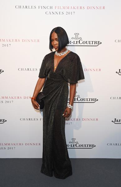 Naomi Campbell Filmmakers dinner