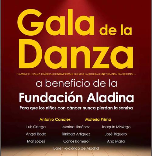 fundacion aladina gala danza madrid