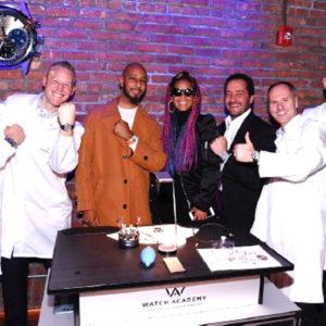 Alicia Keys en la fiesta de Zenith de Nueva York