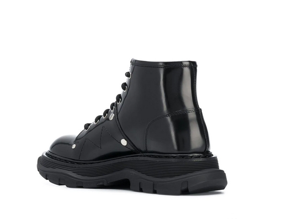 alexander mcQueen botas militar