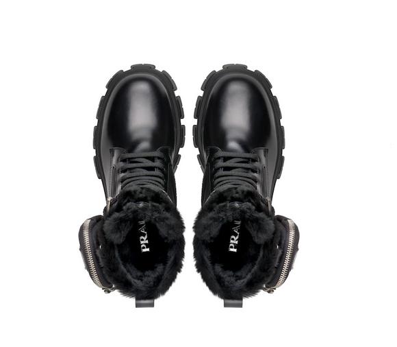 botas militar de prada