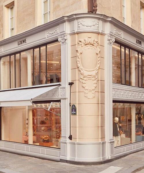 loewe paris la boutique de St honore