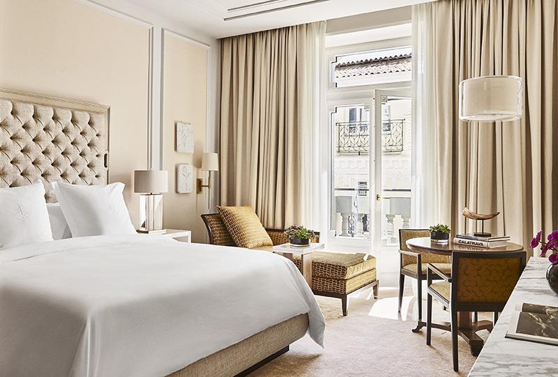 four seasons madrid habitacion rooms elegant