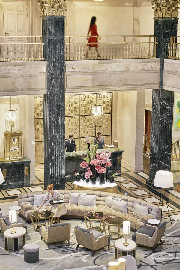 Hall del Hotel Four Season
