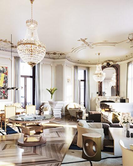 hotel four seasons madrid lujo salones