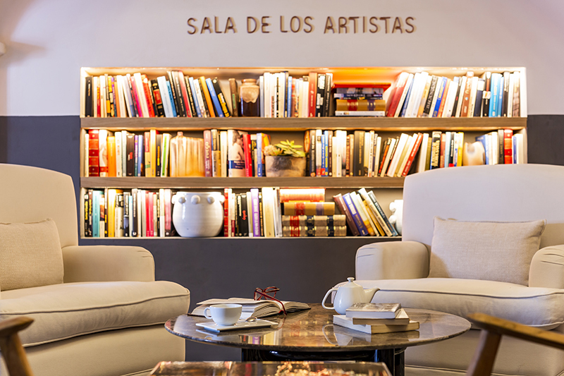 sala de Lectura de Hotel Ibiza