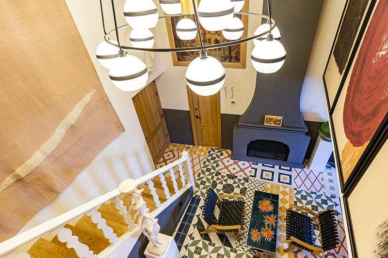Hall del Hotel Torre de Canonigo de Ibiza