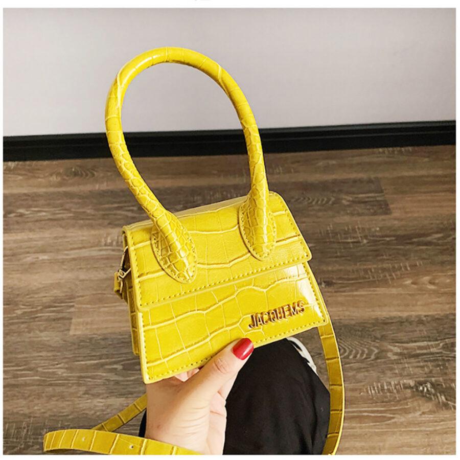 Bolso mini amarillo