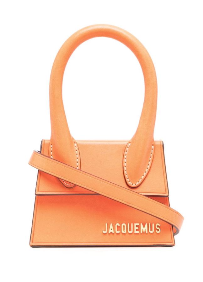 Mini bolso de moda color naranja